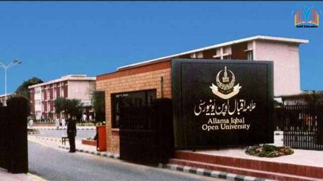 Allama Iqbal Open University To Provide Electronic Copies Of Course Books