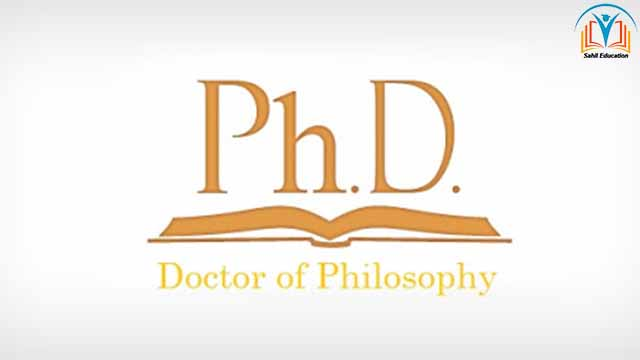 PHd is Doctor Degree