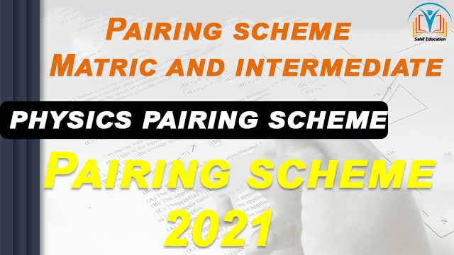 Pairing scheme Matric and intermediate